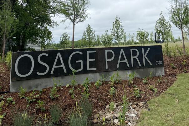 Osage Sign