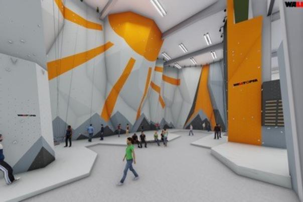 Digital version of Climb Bentonville's interior