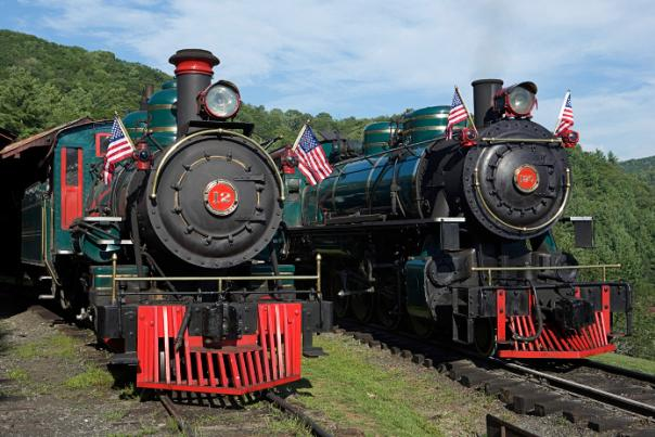 Tweetsie Railroad Antique Steam Engines