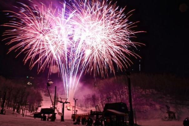 Fireworks at Appalacian Ski Mountain