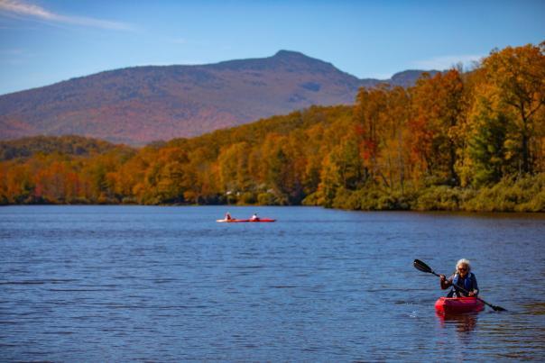 Price Lake in Fall | Boone, NC