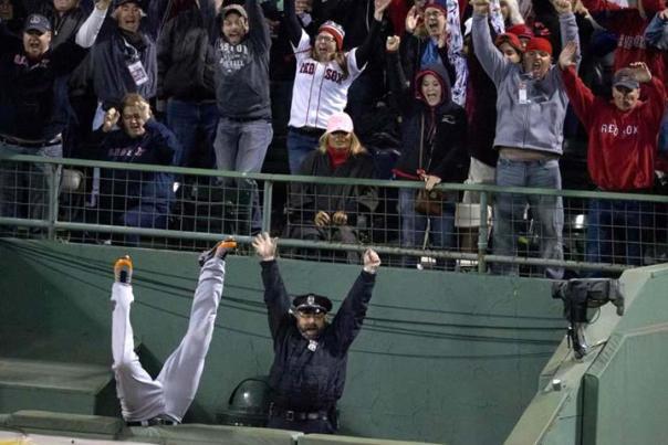 Red Sox bullpen grand slam