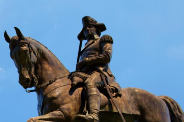 George Washington Statue, Boston