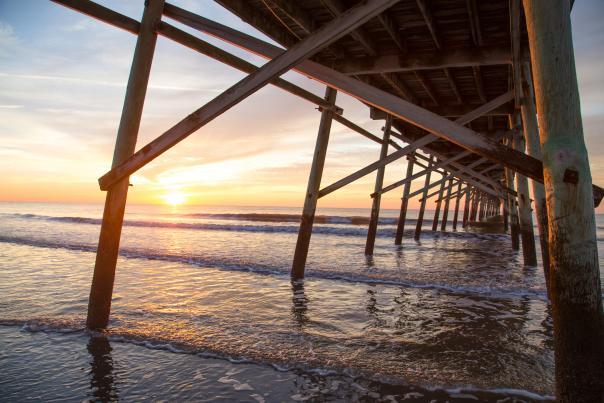 Sunrise at the Sunset Beach Pier