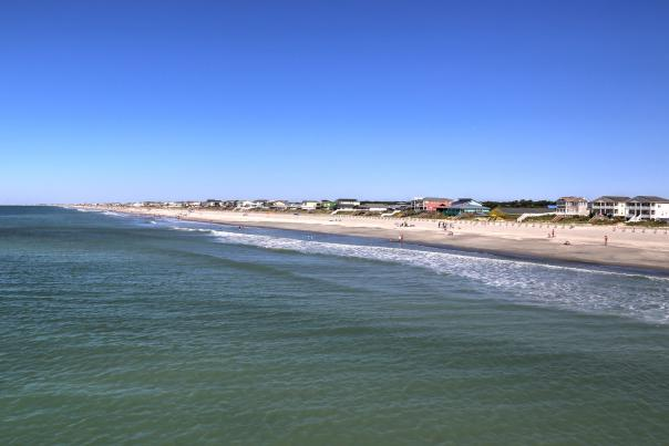 Holden Beach view from pier