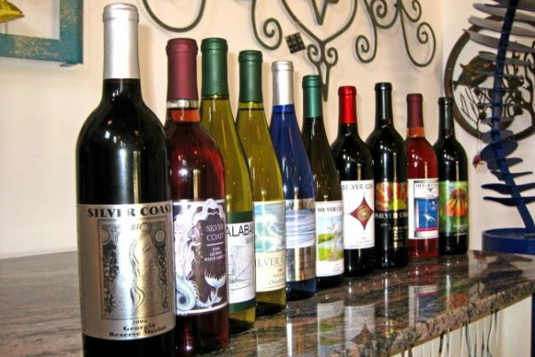 Silver Coast Winery Wines
