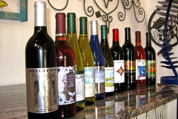 Silver Coast Winery Wines