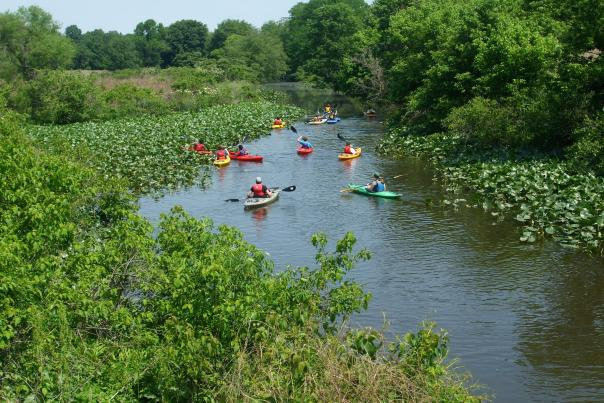 Silver Lake Nature Center hosts kayaking trips and classes for all skill levels. Silver Lake is one of three nature centers in Bucks County that offer educational programs for children and adults.