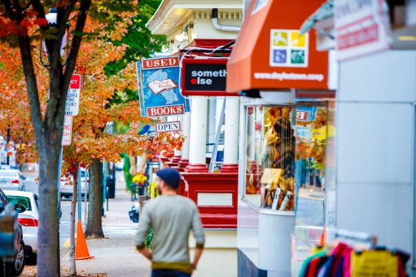 Fall is the perfect time to visit and shop in Doylestown, Bucks County.