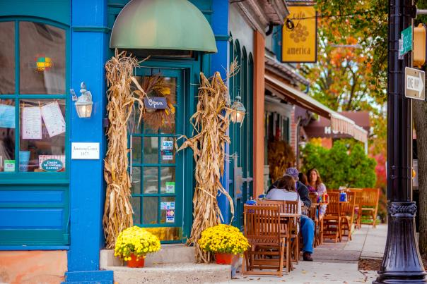 Doylestown is the ideal place in Bucks County to enjoy fall foliage.