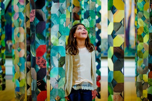 The James A. Michener Art Museum has something for kids of all ages.