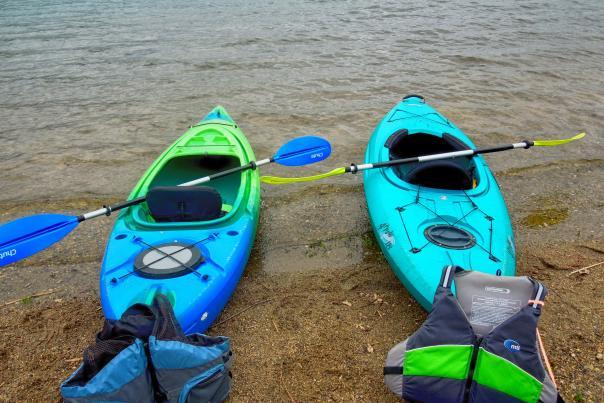 Kayaks in Bucks County