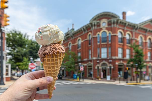 Ice cream in Doylestown