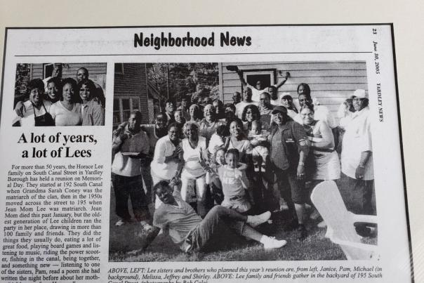 In the Yardley News (2005)