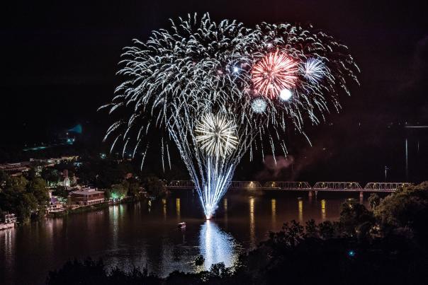 Fireworks over New Hope