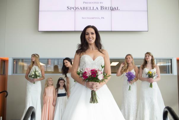 2017 Bucks County Wedding Show, fashion show