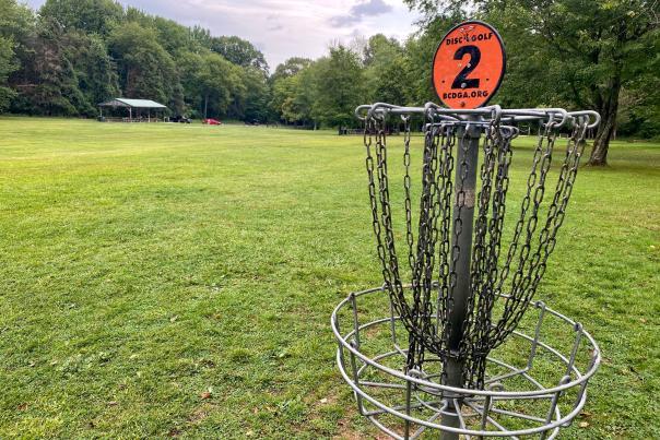 Tamanend Park Disc Golf Course