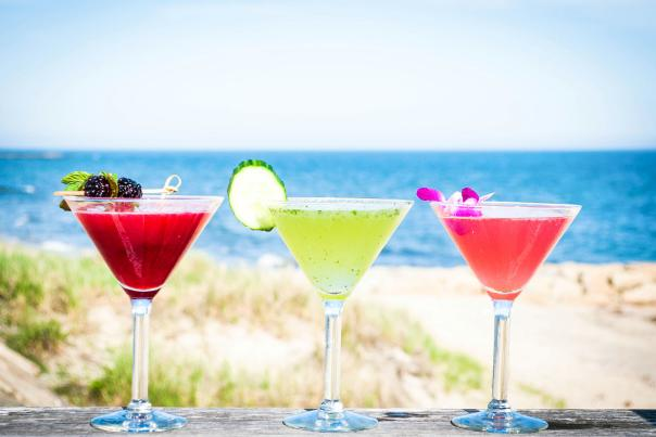 Cape Cod Ocean House martinis