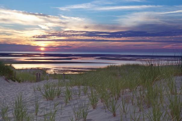 Chapin Memorial Beach Sunset