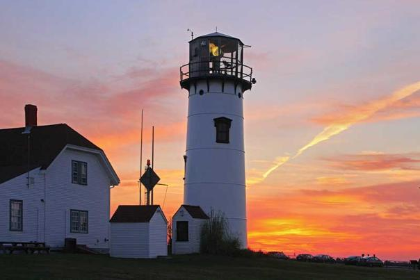 Chatham Light Sunset