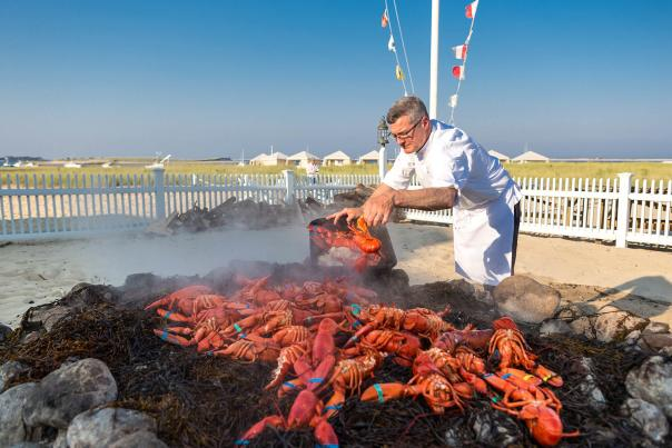 Clambake at Chatham Bars Inn