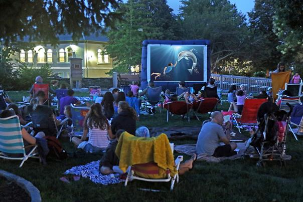 Falmouth Movies in the Park
