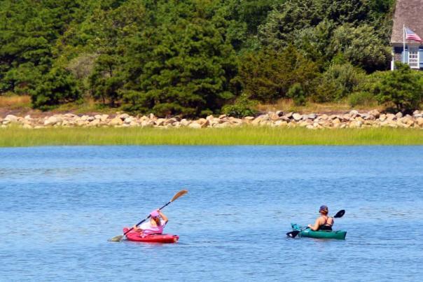 Kayaking in Wellfleet