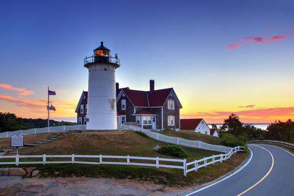 Nobska Light Sunset