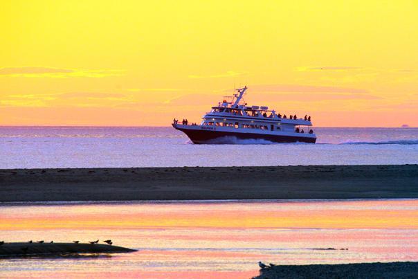 Sunset Herring Cove Beach