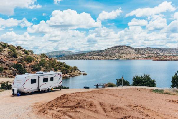 Camping at Alcova