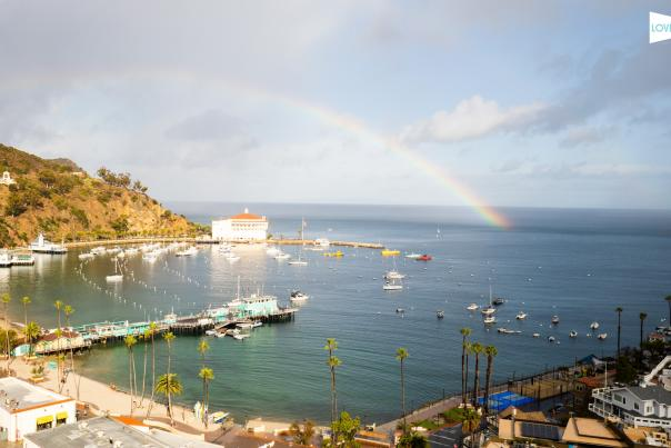 Catalina Island Rainbow