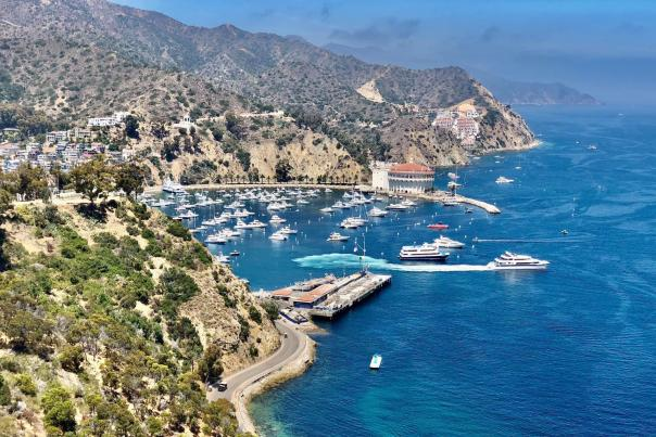 Catalina Island Coastal View