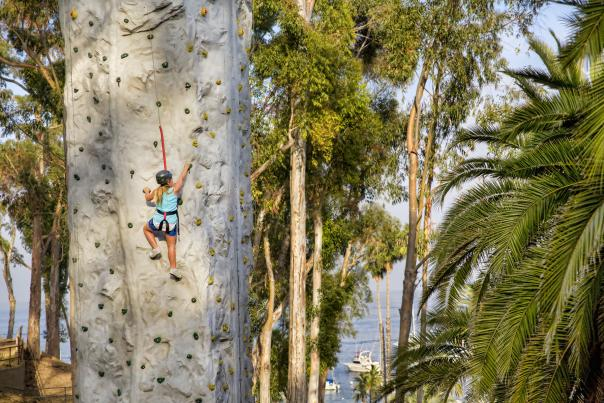 Catalina Island Rock Climbing Wall