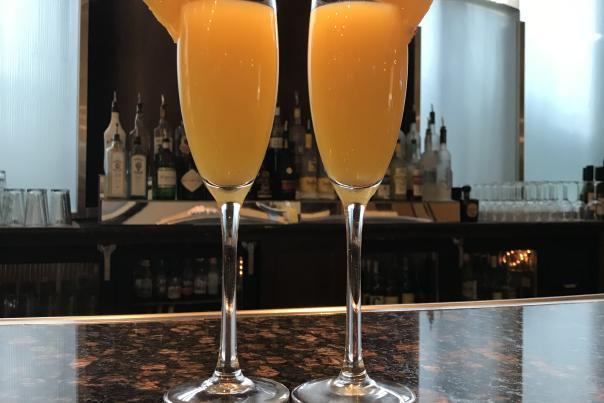 Mimosas for Easter Brunch at Hilton Phoenix Chandler