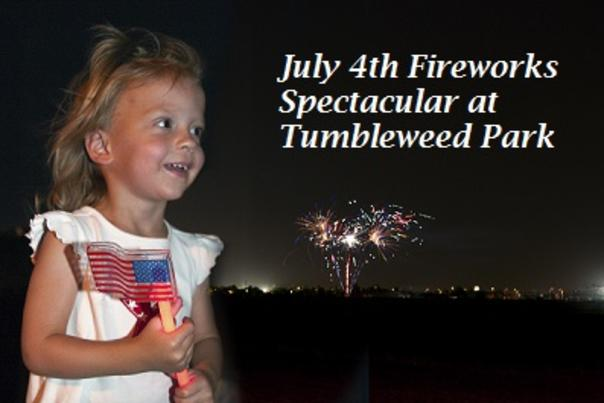 July 4th Fireworks Spectacular