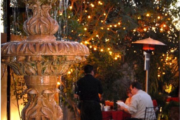 Patio Dining at El Zocalo in Chandler, AZ