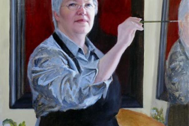 Women Making Faces – Portraits of Arizona Women, Painted by Arizona Women