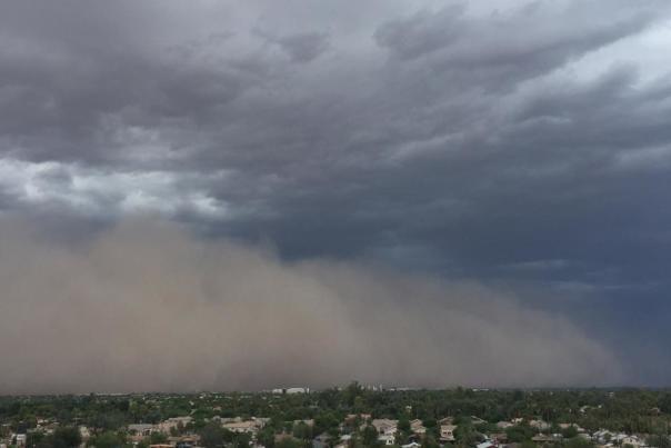 Chandler, AZ Monsoon