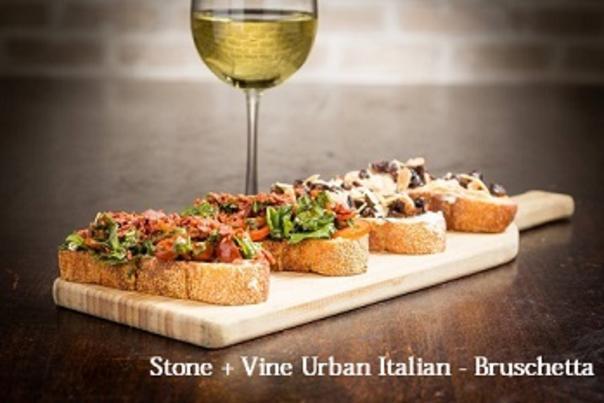 Stone + Vine Urban Italian Bruschetta