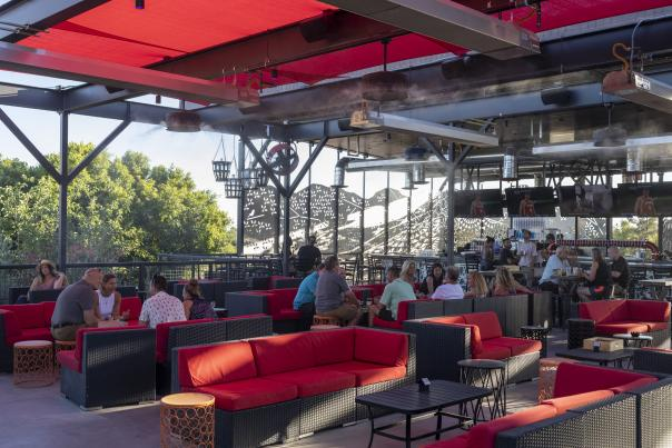 The Perch Brewery - Shaded Rooftop Bar