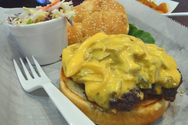 Wimpy's Paradise Adobe Burger