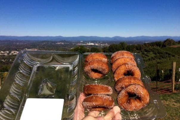 Donuts at Carter Mountain Orchard