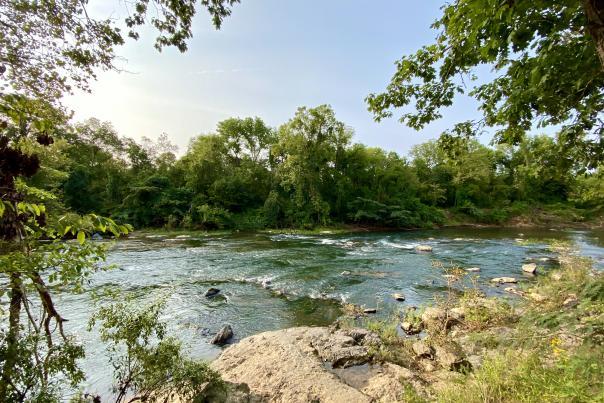 Calm Rivanna River