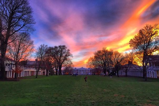 UVA Sunset