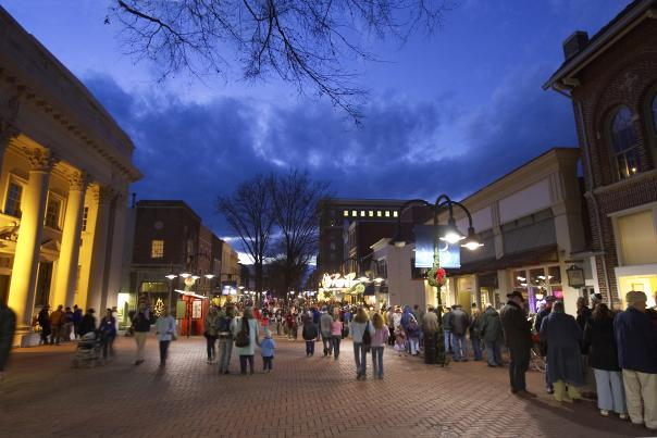 Winter Downtown Mall
