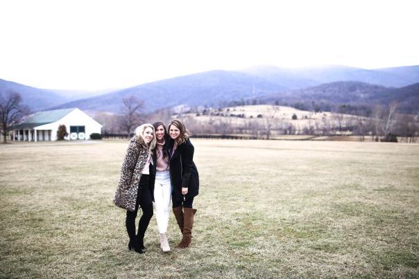 Three women at King Family Vineyard