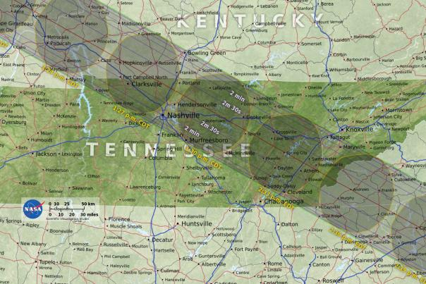 Solar Eclipse_Tennessee Path