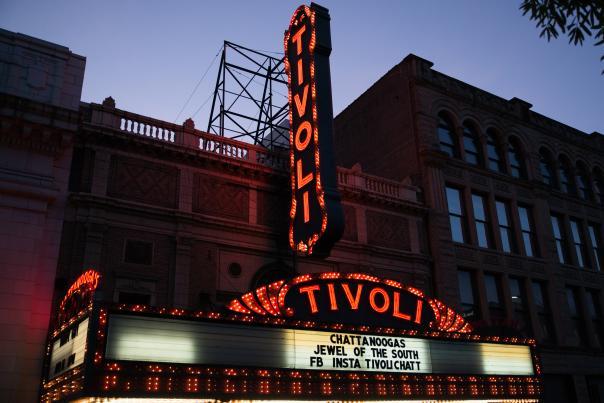 Tivoli Exterior Night