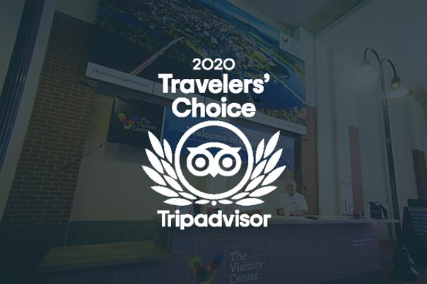 Visitors Center Travelers Choice Award