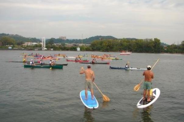 Kayak And Stand Up Paddleboard